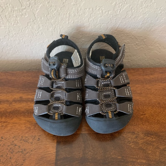 NWT Gymboree Melon Sandals Shoes toddler Kids Girls Metallic Pink Red 6 7 8 9